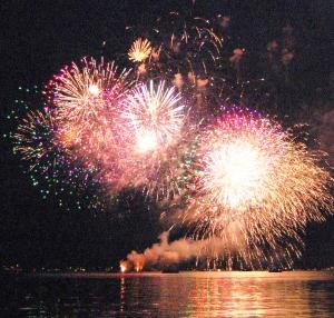 lake fest fireworks